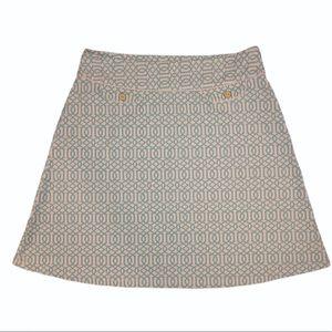 J. McLaughlin Catalina Cloth Skirt Size 10